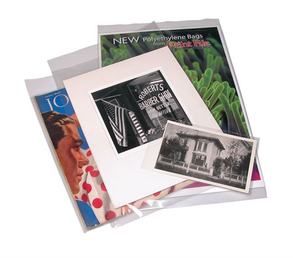 Clear Photo and Print Storage Bags