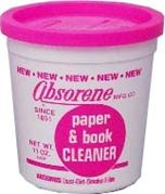 Paper and book cleaner Absorene