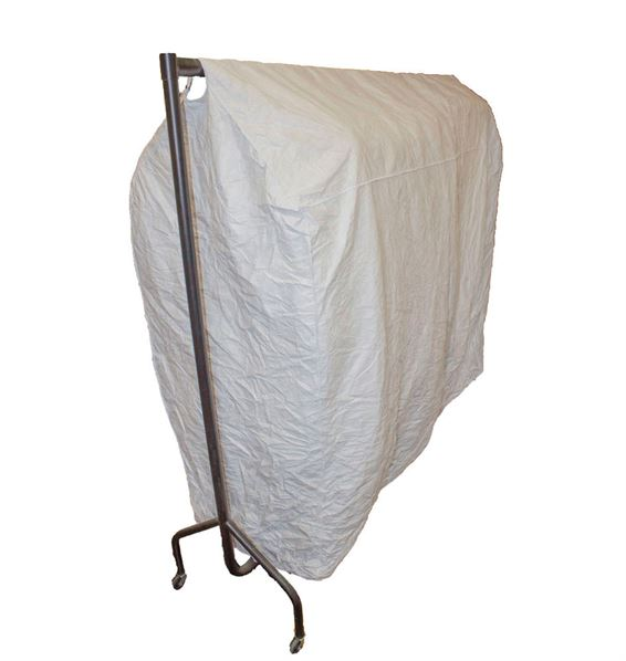Tyvek clothing rail cover